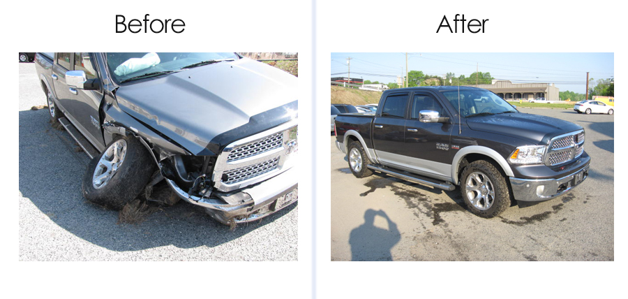 Repair RAM 1500 - Auto Body Work by Mount Airy Collision Center, Mt Airy NC
