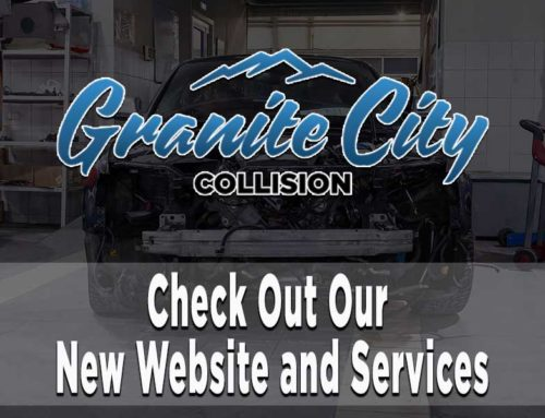 Granite City Collision: Check Out Our New Website and Services